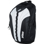 Prince Victory Backpack Tennis Bag (Black/ White) - Tennis Racquet Bags