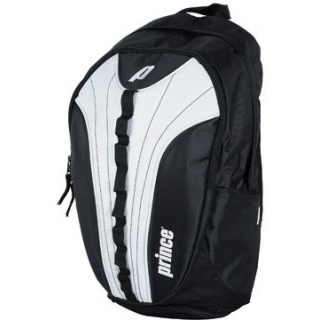 Prince Victory Backpack Tennis Bag (Black/ White)