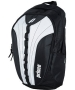 Prince Victory Backpack Tennis Bag (Black/ White) - Tennis Bags