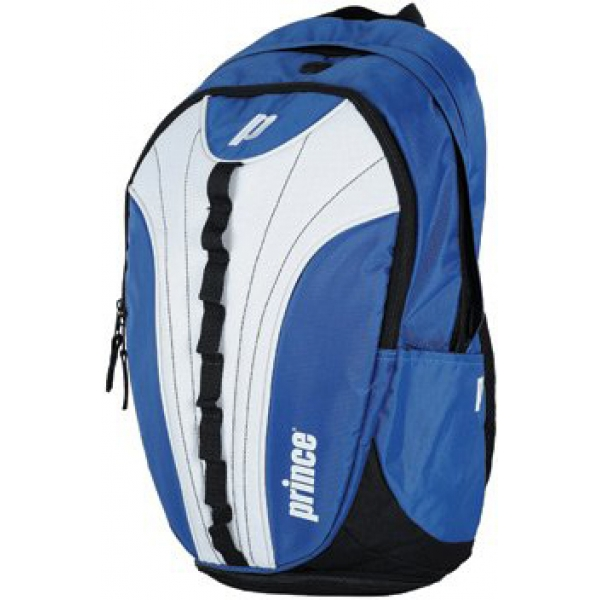 Prince Victory Backpack Tennis Bag (Royal/ White)