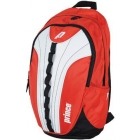 Prince Victory Backpack Tennis Bag (Red/ White) - Tennis Racquet Bags