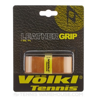 Volkl Leather Replacement Grip (Brown)