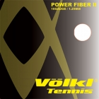 Volkl Power Fiber II Black 17g (Set) - String on Sale