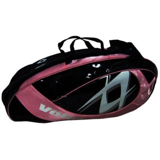 Volkl Team Pink 6-Pack Combi Tennis Bag