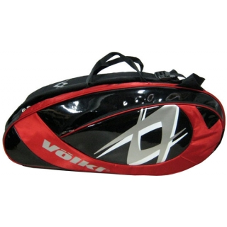Volkl Team Red 6-Pack Combi Tennis Bag