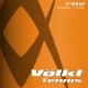 Volkl V-Wrap Orange Spiral 17g (Set) - Volkl Synthetic Gut String