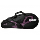 Prince 2016 Club 3 Pack LE Tennis Bag (Pink/Black) - Prince Tennis Bags