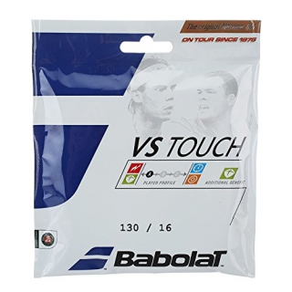 Babolat VS Touch 16g Natural Gut Tennis String (Set)