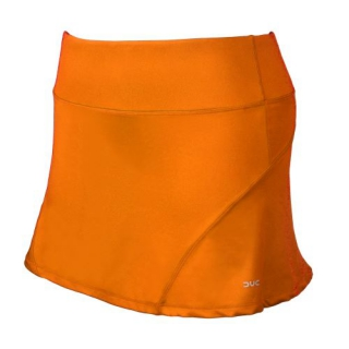 DUC Avalon Women's Tennis Skort (Orange)