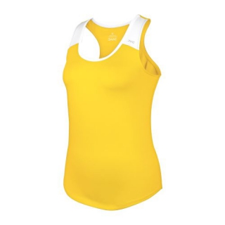 DUC Christie Women's Tennis Tank (Gold/White)