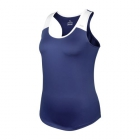DUC Christie Women's Tennis Tank (Navy/White) - Women's Tank Tops
