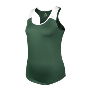 DUC Christie Women's Tennis Tank (Pine/White)