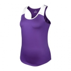 DUC Christie Women's Tennis Tank (Purple/White) - Women's Tank Tops