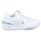 New Balance Women's WC1006WS (D) Tennis Shoes (White/Silver) - 6-Month Warranty Shoes