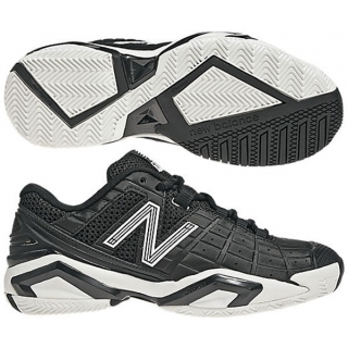 New Balance Women's WC1187BW (D) Tennis Shoes (Blk/ Wht)