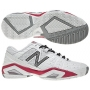 New Balance Women's WC1187WP (D) Shoes (Wht/ Pnk)