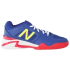 New Balance Women's WC1296BP (D) Tennis Shoes (Blue/Coral/Lime) - New Balance Tennis Shoes
