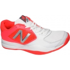 New Balance Women's WC696WP2 (B) Tennis Shoes (White/Pink) - New Balance Tennis Shoes