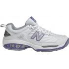New Balance Women's WC806W (D) Tennis Shoes (Wht/ Pur) - New Balance Tennis Shoes