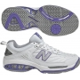 New Balance Women's WC806W (2E) Tennis Shoe (Wht/ Pur)