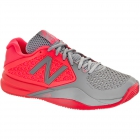 New Balance Women's WC996PG2 (D) Tennis Shoes (Pink/Grey) - New Balance Tennis Shoes