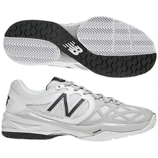 New Balance Womens WC996WS (D) Tennis Shoes (White/ Silver)