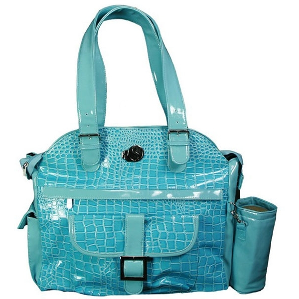 Whak Sak Blue Lagoon (Blue Croc) Ultimate Tote
