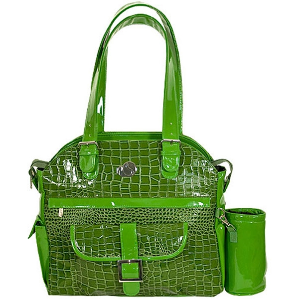 Whak Sak Envy (Green Croc) Ultimate Tote
