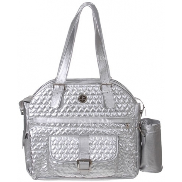Whak Sak I'm In Love Ultimate Tote Silver