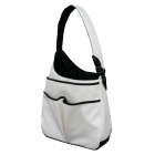 40 Love Courture White Faux Sophi Hobo - 40 Love Courture Sophi Hobo Tennis Tote