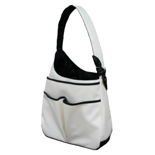 40 Love Courture White Faux Sophi Hobo