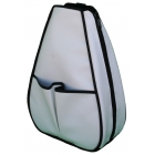 40 Love Courture White Faux Leather Sophie Backpack - Designer Tennis Backpacks