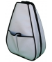40 Love Courture White Faux Leather Sophie Backpack - 40 Love Courture Tennis Bags