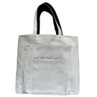 40 Love Courture White Faux Paris Sack Tennis Bag - 40 Love Courture Tennis Bags