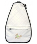 40 Love Courture White Quilt Betsy Tennis Backpack - Designer Tennis Backpacks