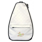 40 Love Courture White Quilt Elizabeth Tennis Backpack - 40 Love Courture Elizabeth Tennis Bags