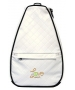 40 Love Courture White Quilt Elizabeth Tennis Backpack - 40 Love Courture