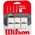 Wilson Profile Overgrip 3 Pack (White) - Grip Brands