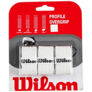 Wilson Profile Overgrip 3 Pack (White)