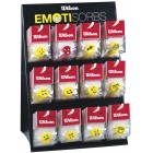 Wilson Emotisorb Dampener 1pk (Assorted) - Tennis Accessory Types