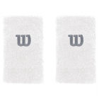 Wilson Extra Wide 'W' Tennis Wristband (White) -