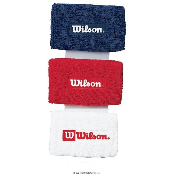 Wilson Logo Extra Long Wristbands
