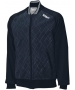 Wilson Men's Country Club Jacket (Nvy/ Wht) - Men's Outerwear Warm-Ups Tennis Apparel