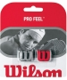 Wilson Pro Feel (Silver/ Red) - Wilson Tennis Accessories