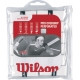 Wilson Pro Overgrip Perforated 12 pk (White) - Wilson Grips