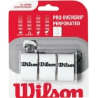 Wilson Pro Overgrip Perforated 3 Pack (Assorted Colors) - Over Grip Brands