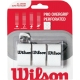 Wilson Pro Overgrip Perforated 3 Pack (Assorted Colors) - Wilson Grips