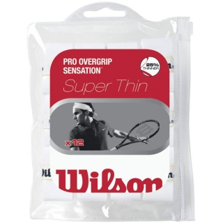 Wilson Sensation Control Overgrip 12 Pack (White)
