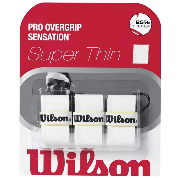 Wilson Sensation Control Overgrip 3 Pack (White)