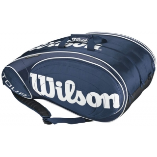 Wilson Tour 15 Pack Tennis Bag (Blue/ Wht)